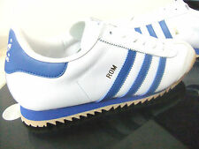 ORIGINAL MENS ADIDAS BECKENBAUER TRAINERS BROWN LEATHER UK SIZE 7 - 12