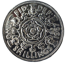 HIGHLY POLISHED FLORIN / TWO SHILLINGS COINS CHOIC OF DATE 1947-1967 BIRTHDAY