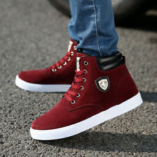 New Men's High Top comfortable Sneakers fashion Korean Ankle Boots Casual Shoes