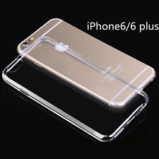 Ultra Thin Transparent Crystal Clear Soft TPU Case Skin Cover for iPhone 6 6Plus