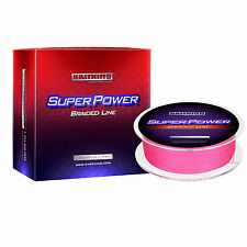 KASTKING SUPER POWER BRAID FISHING LINE ( 330 yds/300m ) PINK SELECT LB TEST