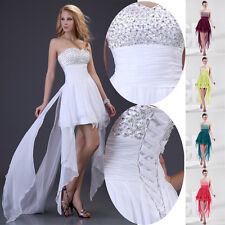 2015 CHEAP!! Chiffon Beaded Sexy Bridesmaid Prom Cocktail Party Homecoming Dress