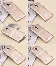 Gold Cartoon Hello Kitty Case Cover Pouch for Samsung Galaxy S4 S5 Note3 Note4