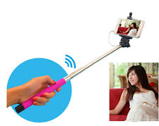 Wire Control Extendable Selfie Handheld Monopod Stick Phone Holder for iPhone