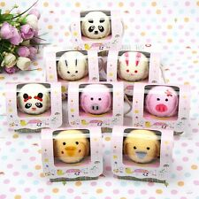 Cute Animal Fold Hand Towel Wedding Party Washcloth Cake Towel Favor Gift -Y