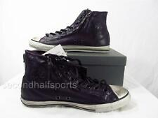 Converse John Varvatos Double Zip Hi Chuck Taylor ALL STAR Leather NIGHTSHADE