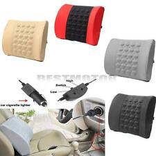 4 Colors Car Back Lumbar Posture Support Electrical Massage Cushion Pillow Seat