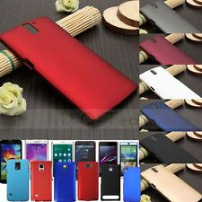 Matte Slim Thin PC Plastic Hard Snap On Back Case Cover Skin For Various Phone