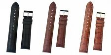 Condor Padded Alligator Grain Leather Watch Strap With Buckle 614R