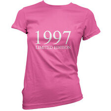 1997 Limited Edition - Womens 18th Birthday Present / Gift T-Shirt - 11 Colours