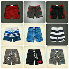 New Hollister And Abercrombie Men Swim Athletic Fleece Shorts Size : XS S M L