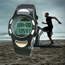 Pedometer Step Walking Distance Calorie Counter Heart Rate Monitor Smart Watch