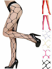 Ladies Sexy Large Mesh Fishnet Net Pattern Tights Pantyhose Stockings Hosiery