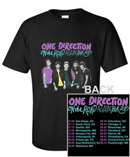 On The Road Again One Direction Tour Date 2015 2'Sides T-Shirt S M L XL 2XL 3XL