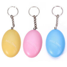 Hot Egg Shape Personal Portable Guard Safety Security Annunciator Alarm Keychain