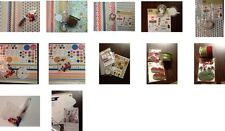 Stampin' Up! RETIRED DESIGNER PAPER, COORDINATING ACCESSORIES AND EMBELLISHMENTS