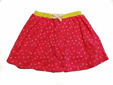 NWT Girl's Gymboree Bright Ideas pink & yellow elastic skorts skirt ~ 4 5 6 7 8