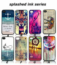 New Painted Various Pattern Cheap Hard Back Skin Case Cover for iPhone 4 4S 5 5S