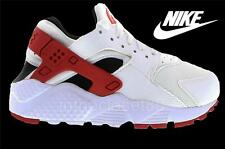 Nike Air Huarache Gs White Red Black Juniors Women Girls Boys Trainer 654275 102