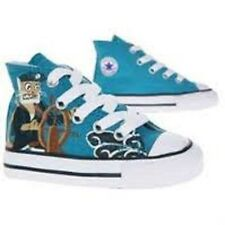 CONVERSE INFANT BOYS / GIRLS CT SPACE HI TOP BLUE / WHITE STYLE # 702143 SIZE 10