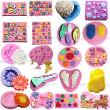 Lace Flower Silicone Embosser Mould Sugarcraft Cake Decorating Baking Mold Tool