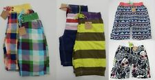 EX-BODEN JOHNNIE B BOYS SWIM BOARD SHORTS AGE 8-16 VARIOUS COLOURS BNWOT