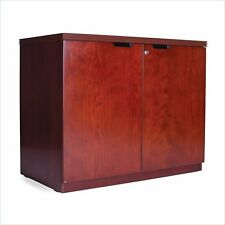 Mayline Luminary 2-Dr Hinged Credenza Storage Cabinet