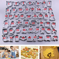 Baking Mold Stainless Sugar Cake Biscuit Cookie Cutter Mould Kitchen Tool DIY