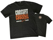 Crossfit Short Sleeve T-Shirt for Crossfit Weight Lifting Fitness Yoga Exercise