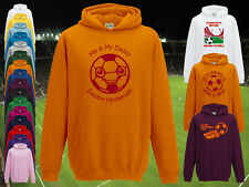 MOTHERWELL Football Baby/Kids Hoodie/Hoody-Boy/Girl-Personalised Top-Name&Number