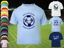 WYCOMBE WANDERERS Football Baby/Kids/Childrens T-shirt Top Personalised-Any team