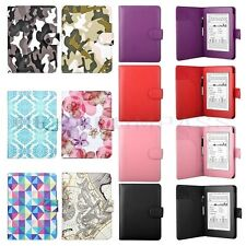 Slim Fit Folio PU Leather Smart Cover Case For New Amazon Kindle Paperwhite 5 4
