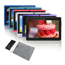 "7"" Quad Core 8GB Tablet PC Google Android 4.4 KitKat Capacitive WiFi Dual Cam"