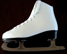 Womens Ladies  Girls White  Figure ice Skates Size  3.0, 4.0,  5.0,   RRP £49:99
