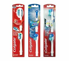 COLGATE 360 Electric Toothbrush Replacement Heads, 2 Pack Medium/Max White/Soft