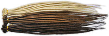 Dreadlock Extensions Twisted Single Ended 50cm - 1 x 10 Pack