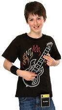 ELECTRONIC ELECTRIC ROCK CHORD GUITAR AMP SHIRT  YOUTH SIZE S L PLAYABLE MUSIC