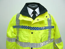 Hi Viz Vis  Gore-Tex Waterproof Blouson Bomber Jacket ex Police Security (PO 30)