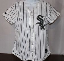Chicago White Sox Women's Pinstripe Style Jersey Made By Majestic