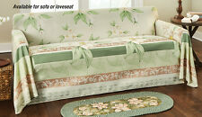 Collections Etc Magnolia Blossoms Furniture Cover