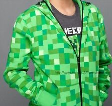 Boys Minecraft Hoodie Mine Craft Hoody Sweatshirt 5 - 13 Years Sweater clothes