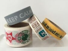 WASHI TAPE: PHRASES AND SLOGANS WASHI TAPE IN 4 DESIGNS- BRAND NEW
