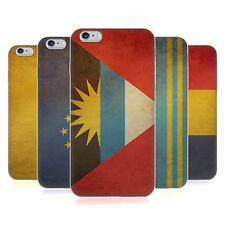 HEAD CASE VINTAGE FLAGS SET 5 SILICONE GEL CASE FOR APPLE iPHONE 6 PLUS 5.5