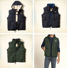 NWT Hollister by Abercrombie Men Vest Puffer Jacket
