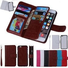 Luxury Magnetic Flip Cover Wallet Leather Case For iPhone 6/Plus 4.7 5.5'' 5s 5