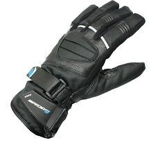 Spada Ice WP Leather Ladies Motorcycle Gloves Womens Waterproof Motorbike