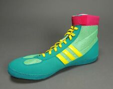 NEW Adidas Combat Speed 4.0 IV Wrestling Shoes Emr Pink Yellow Retail at $75.95