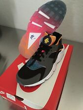 Nike AIR Huarache black yeezy solar pink 8 - 13 QS max pink Sunset Rainbow white