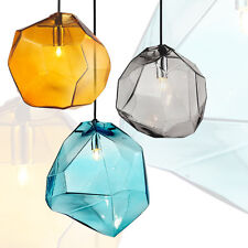 HOT MODERN DIY CHANDELIER MULTI COLOR CEILING LIGHT LAMP GLASS PENDANT LIGHTING