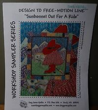 Dog Gone Quilt/Wall Hanging Pattern (Design to Free-Motion Line) by  Sue Olsen